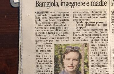 Francesca Baragiola: ingegnere e madre