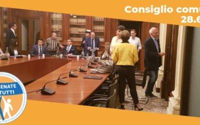 Resoconto del Consiglio Comunale del 28.06.2019